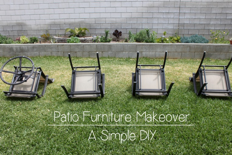 Patio Furniture Makeover cover