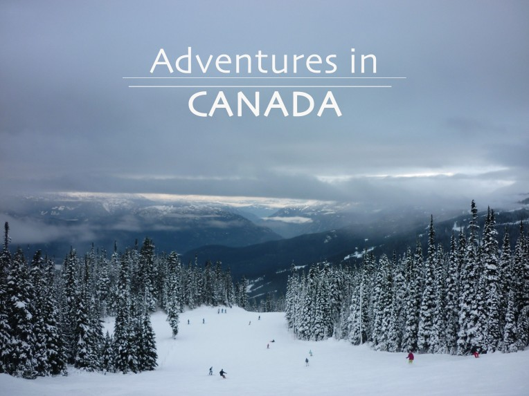 Adventures In Canada Title