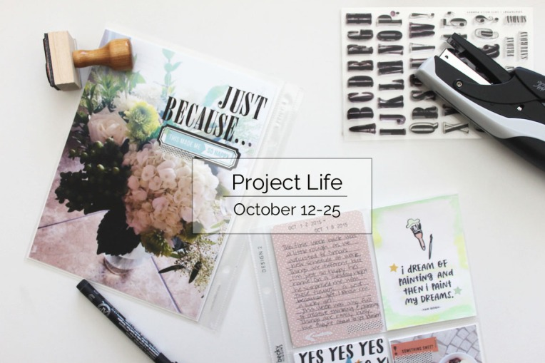 Project Life Oct. 12-25 Title