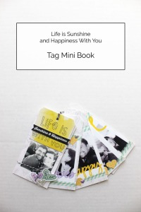 Sunshine and Happiness Tag Mini Cover